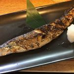 ふうすけ - さんま塩焼き(900円)