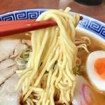 らーめん山頭火 - こちらの麺の方が若干太いです!!