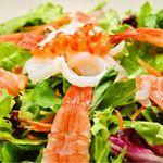 海の恵み!海鮮サラダ
