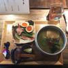 ゑぽっく - 料理写真:蛤香るグリーンカレーそば(900円)