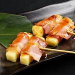 豚バラチーズ串(2本)