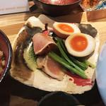 貝料理専門店 ゑぽっく - 旨い!煮卵&レアチャー!
