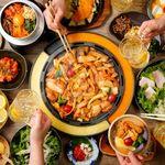 黒木屋宮崎 西都 - 話題のチーズタッカルビも専用鍋で召し上がれます!