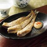 北海道産氷下魚(こまい)一夜干し