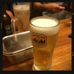 立呑み 龍馬 - 生ビール