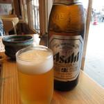 くずし割烹 ぼんた - 瓶ビール 590円(税別) (2018.8)