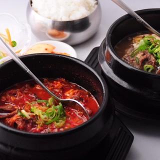 テールスープはチェジュ島式!コサリ<わらび>入りの本格派◎
