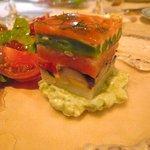 モンモランシー - 前菜-時鮭のミルフィーユ仕立て