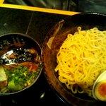 麺処 蓮海 - 塩つけ麺 中盛200g@700円(2011.8)