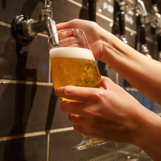 《お酒》主に国内の生ビール&世界各国のワイン・ウィスキー