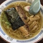 すずみ食堂 - らーめん 550円