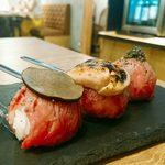 90603557 - 世界三大珍味の鉄板肉てまり(980円)