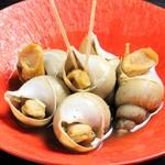 バイ貝の旨煮5コ