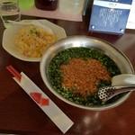 香楼苑 - 「麺類と炒飯セット (694円)」
