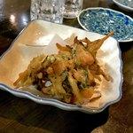 旬鮮居食屋 知花冷凍食品 - *車海老カキ揚げ(¥400)