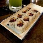 旬鮮居食屋 知花冷凍食品 - *しば漬け納豆巻(¥350)