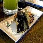 旬鮮居食屋 知花冷凍食品 - *納豆磯辺揚げ(¥350)