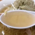 味楽 - 冷塩らーめんのスープ
