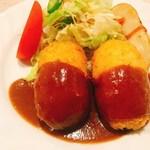辰五郎 - えびクリームコロッケ