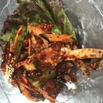本格韓国料理 情 - ヤンニョムケジャン