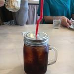 カフェ食堂 ファンファン - ドリンク写真:な、なんかワイハーだ トロピカルにサンキューでーす