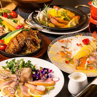 【数量限定】3h飲み放題付和食鶏バル料理コース2999円