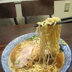 麺や 一晃亭 - 追い煮干し中華(麺)