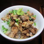 麺や 一晃亭 - 半わさびチャーシュー丼