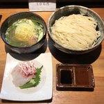 90609974 - 週末創作塩つけ麺「尾長鯛」1900円