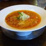 りょう花 - らーめん工房 りょう花 伊予三島店(トマト拉麺)