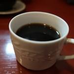 鴨料理 呂尚 - 鴨ネギ炒め1000円ホットコーヒー