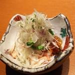 Koshitsuwashokutawaraya - 紅ずわい蟹ポン酢ジュレ