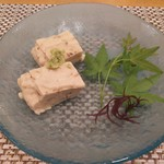 天麩羅 杉 - 手作りごま豆腐