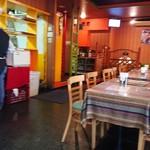 インド・ネパール料理 Raja - 店舗内。