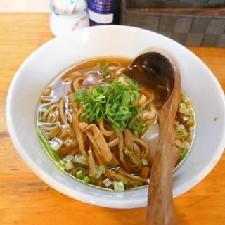 中華そば de 小松 - 料理写真:鶏と海老の中華そば