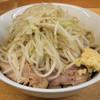 ラーメン二郎 - 料理写真:小(少なめ)750円、冷(さ)まし100円