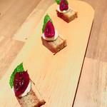 フランス料理 サンク - 小菓子のセンスも抜群