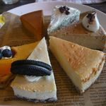 KOUBA - 料理写真:ケーキ6種類