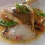 9062587 - メインの魚 真鯛