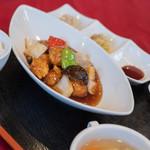 ヌーベルシノワ Ishibashi - 咕嚕肉(すぶた)の套餐(めし)