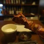 鶏屋 楽 - 料理写真:塩レバー美味し