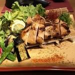 新宿個室割烹 志摩 - 鶏の西京味噌焼