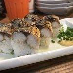 パーラー 小やじ - 焼き鯖棒寿司