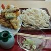 Yoshimiudon - 料理写真:天ざる