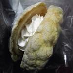 えのぱん - ひえひえ生クリームメロンパン
