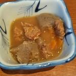 稲庭GOEMON - 料理写真:付け出し(煮込み)