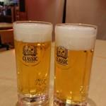 大厚岸 - ビール 500円
