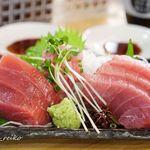 魚○本店 - マグロの刺身