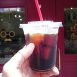 銭場商店 - アイスコーヒー¥330