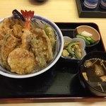 天ぷら てんちゃん - 有マツ夏天丼